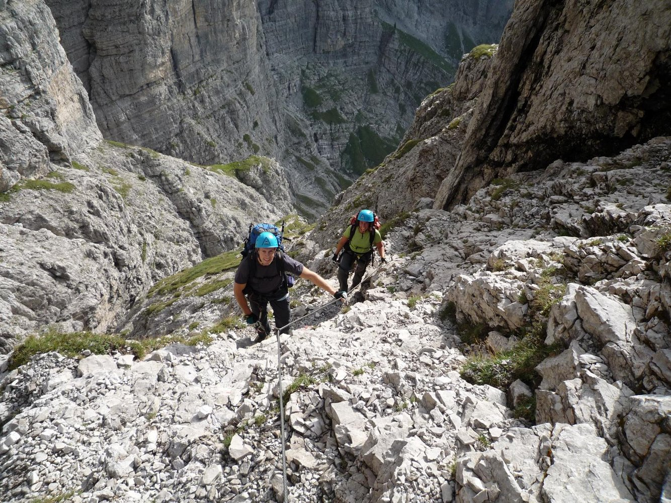 Klettersteig Via Ferrata : Klettersteige ↔ klettersteig touren mit karte und topo via