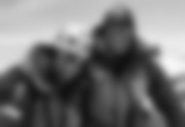 Gerlinde und Ralf freuen sich auf dem Gipfel des Lhotse
