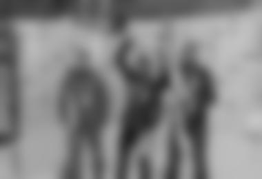 Die Herrensieger: 1. Alexander Lugger (Kärnten), 2. Alexander Hug (Schweiz), 3. Hans Wieland (Salzburg), Bild Alfred Ruff