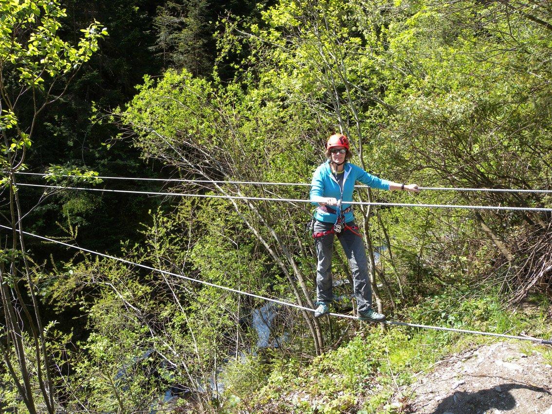 Klettersteig Talbach : Klettersteig talbach bergsteigen