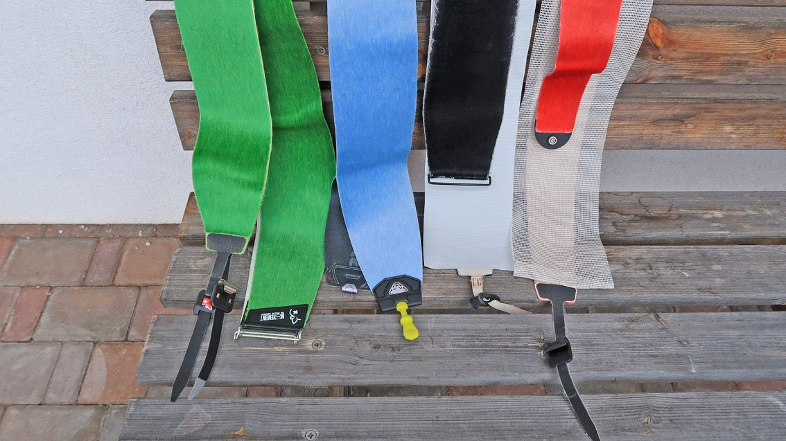 Fellbefestigung Pomoca Click Lock with Buckle