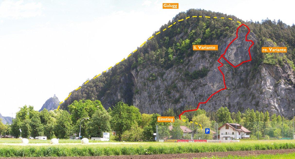 Klettersteig Zams : Anspruchsvolle klettersteige in berchtesgaden