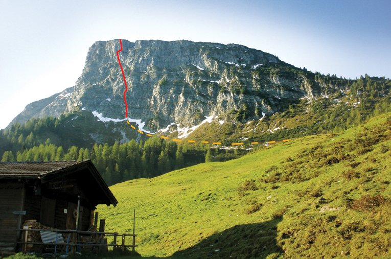 Klettersteig Gerlossteinwand : Klettersteig gerlossteinwand bergsteigen