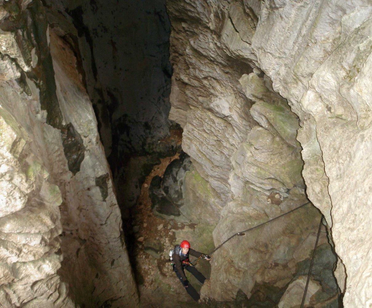 Klettersteig Rakousko : Rosslochhöhlen klettersteig seemauer bergsteigen
