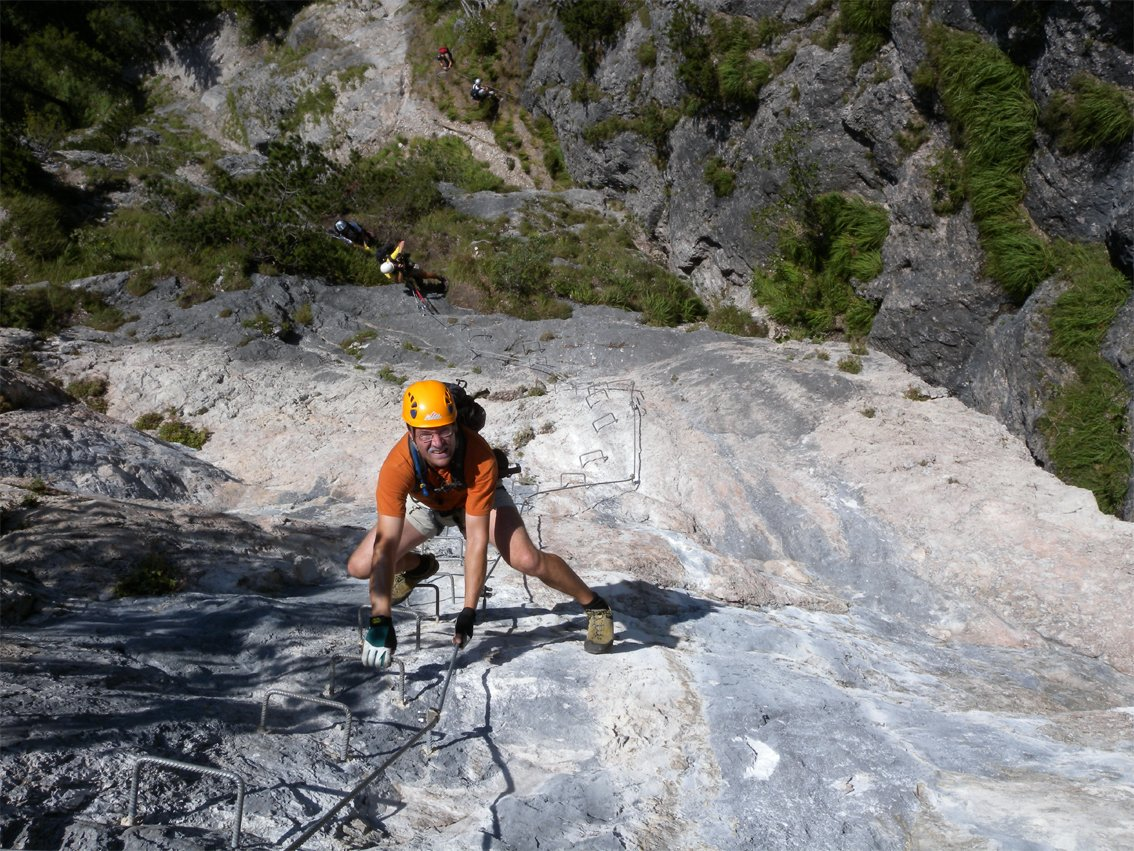 Klettersteig Grünstein : Saisonabschlusstour grünstein klettersteig