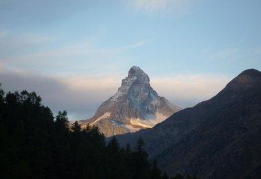 Das Matterhorn im Abendlicht
