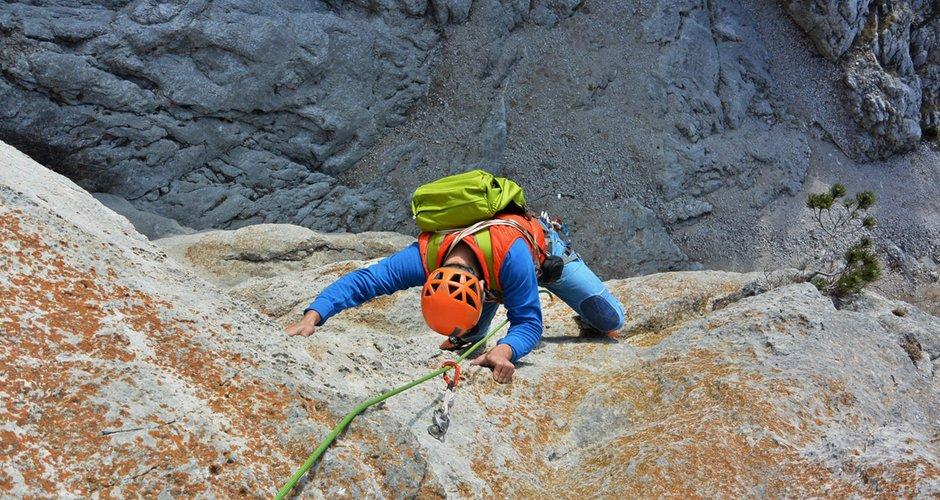 Klettergurt Climbing Technology Test : Exped core 35 test bergsteigen.com