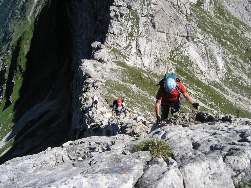 Klettersteig Bad Hindelang : Hindelanger klettersteig u wikipedia