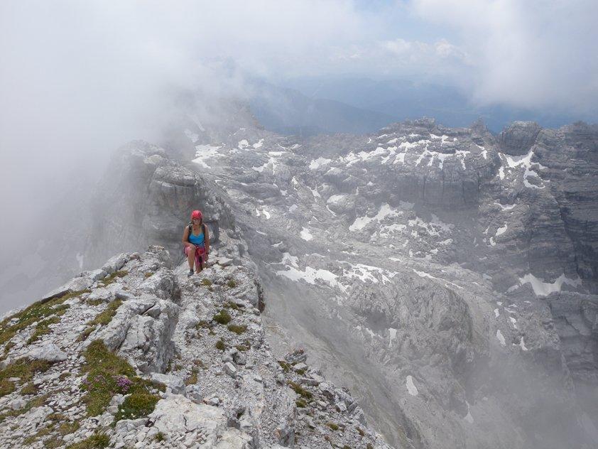 Klettersteigset Hund : Klettersteigset hund klettersteig nackter bergsteigen