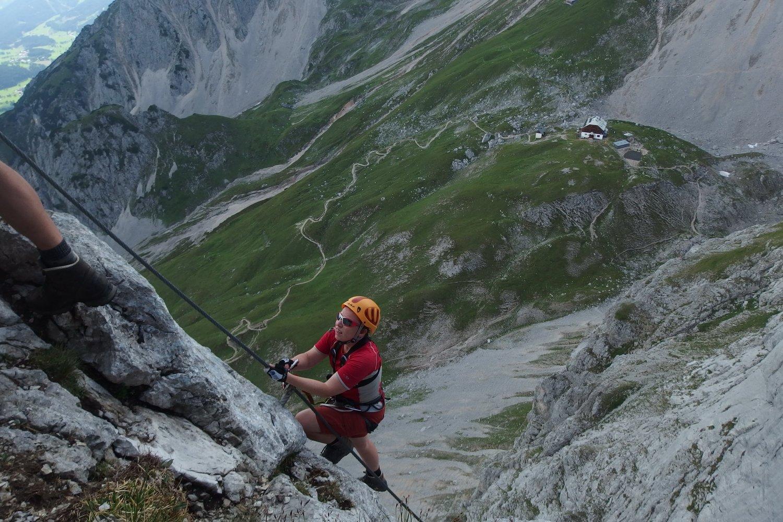 Klettersteig Austria Map : Klettersteige achensee klettern