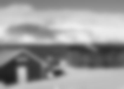 Blick aus dem Busehuse auf den Ullsfjord