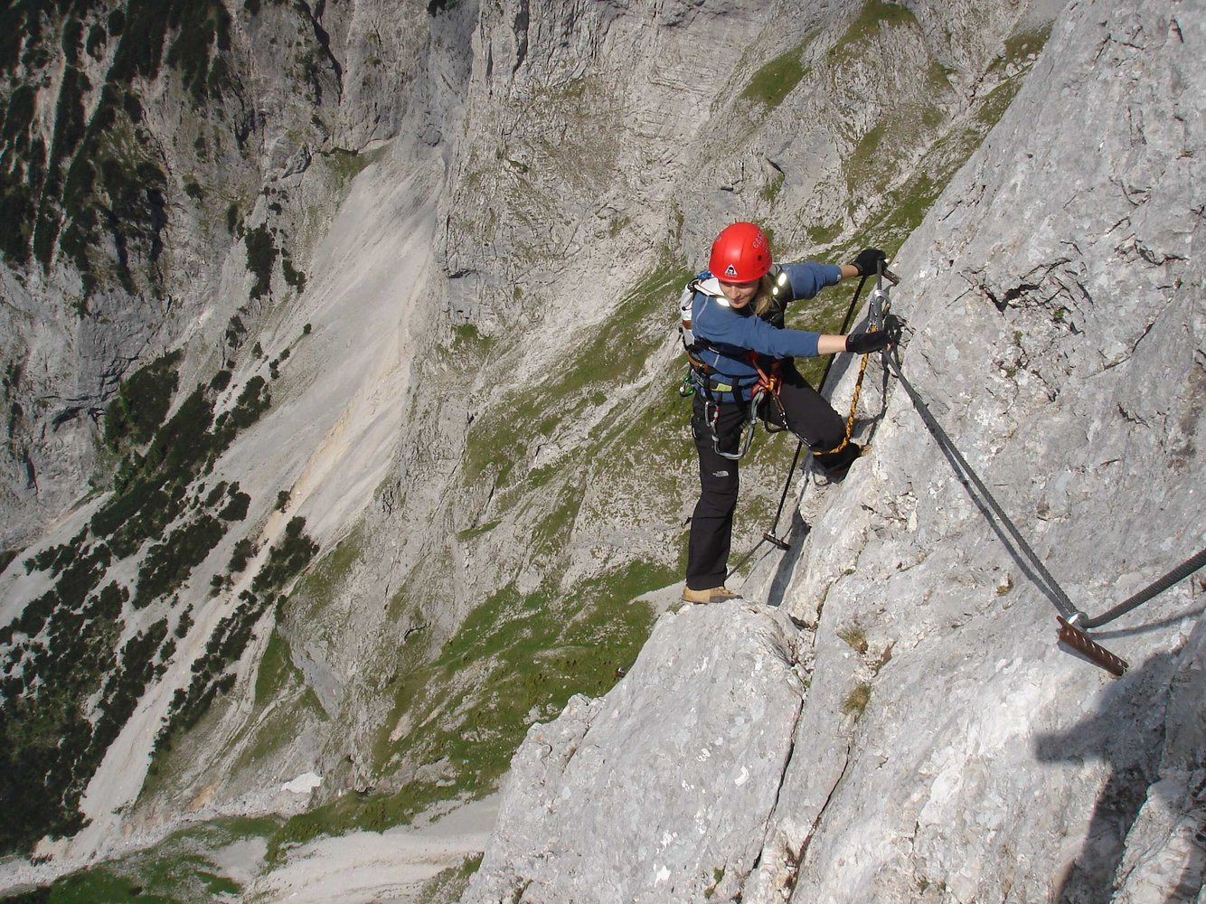 Klettersteig Eisenerz : Kaiserschild klettersteig bergsteigen