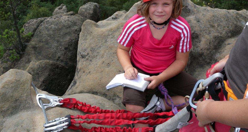 Klettersteigset Kinder : Test: klettersteigsets für kinder bergsteigen.com