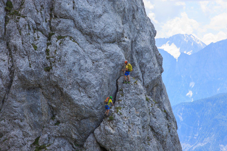 Klettersteig Däumling : Däumling klettersteig bergsteigen.com