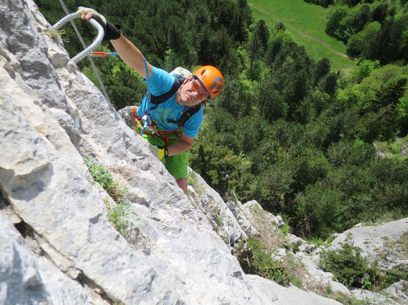 Klettersteigset Verleih Wien : Ötk klettersteig hohe wand bergsteigen.com