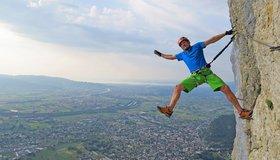 Klettersteig Via Kapf : Via kapf klettersteig bergsteigen.com