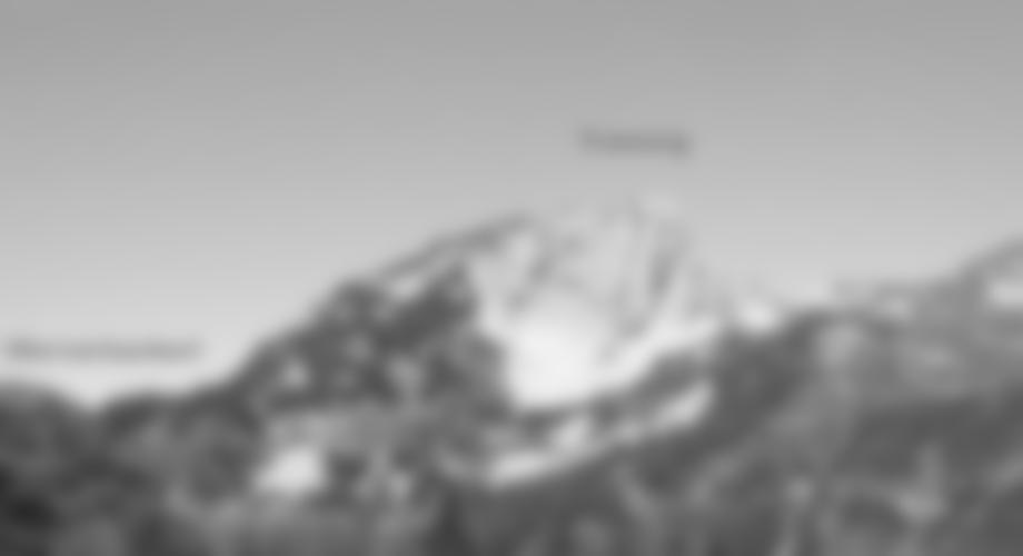 Übersicht Gamsblick Klettersteig