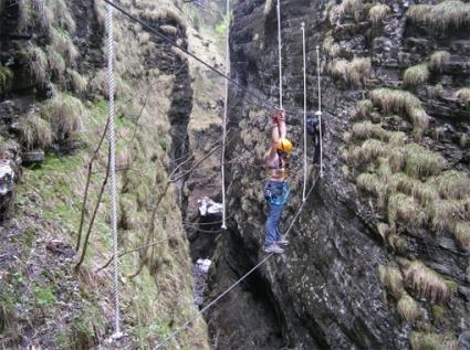 Klettersteig Postalmklamm : Postalmklamm klettersteig mit f variante bergsteigen