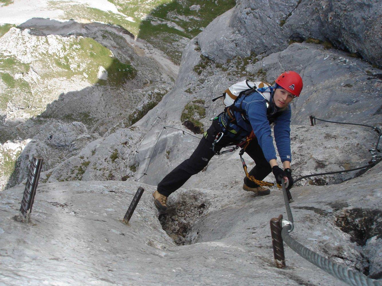 Klettersteig Eisenerz : Klettersteig eisenerz pfaffenstein klettern gps