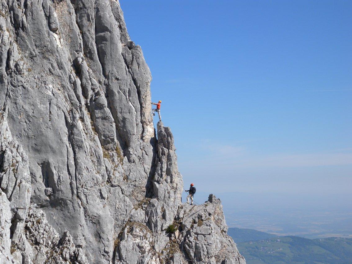 Klettersteig Oberösterreich : Htl wels klettersteig bergsteigen