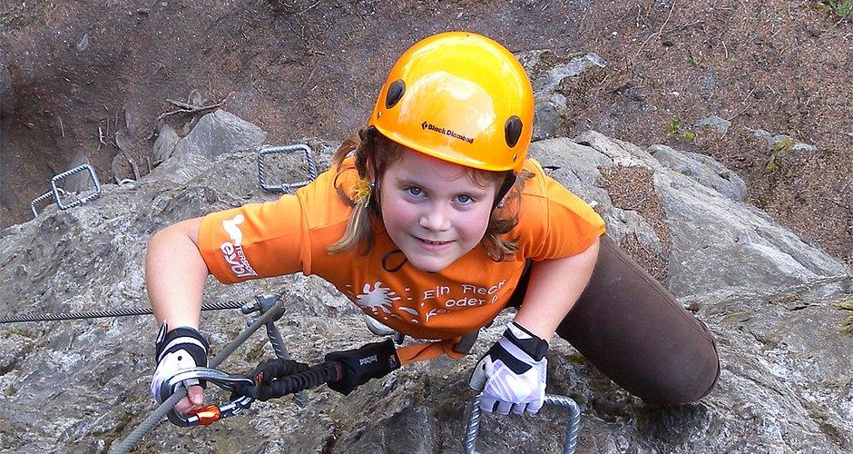 Klettersteigset Kind : Test klettersteigsets für kinder bergsteigen