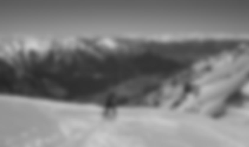 Der Gipfelhang, man sieht bis nach Innsbruck.