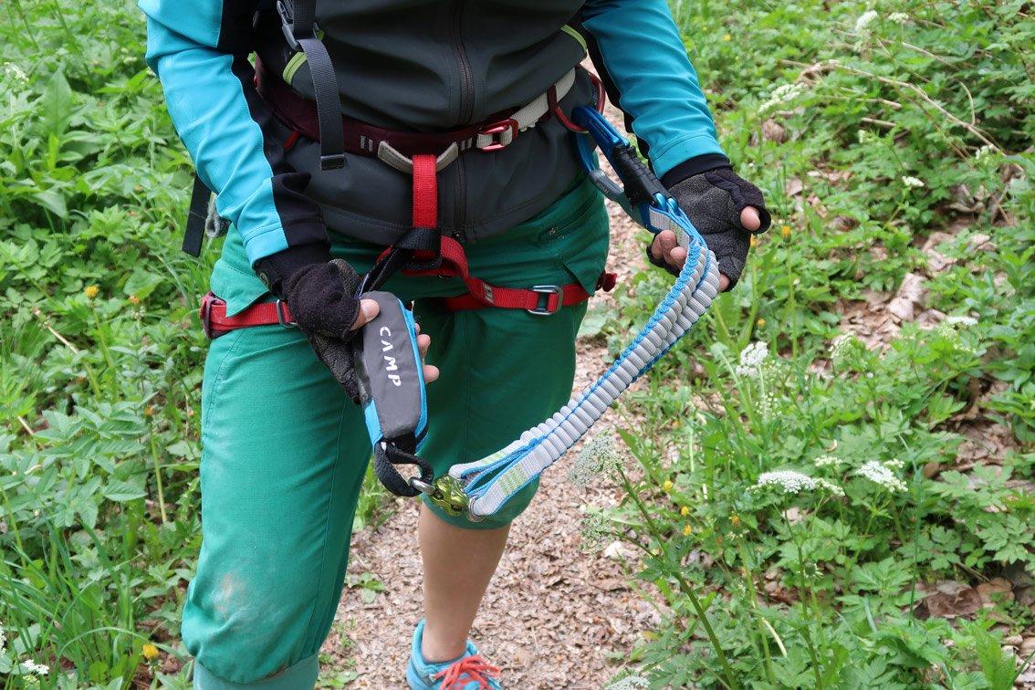 Klettersteigset Camp : Test camp kinetic gyro rewind pro bergsteigen.com