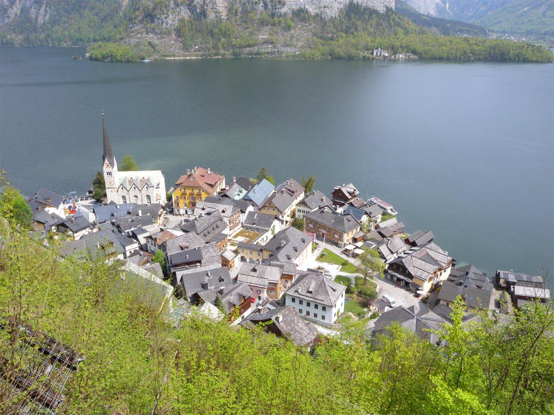 Klettersteig Hallstatt : Seewand klettersteig youtube
