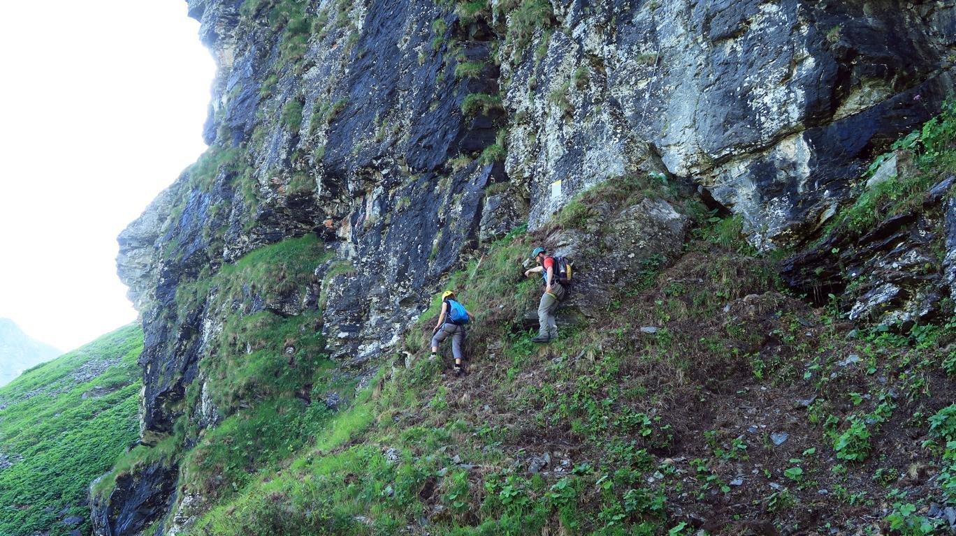 Klettersteig Madrisella : Madrisella klettersteig bergsteigen