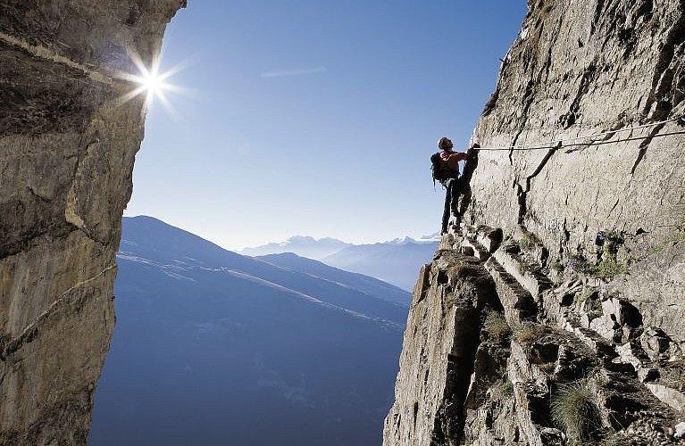 Klettersteig Comer See : Der klettersteig u ein sportliches erlebnis bergsteigen