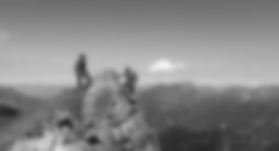 Beim Ende des Madrisella Klettersteiges.