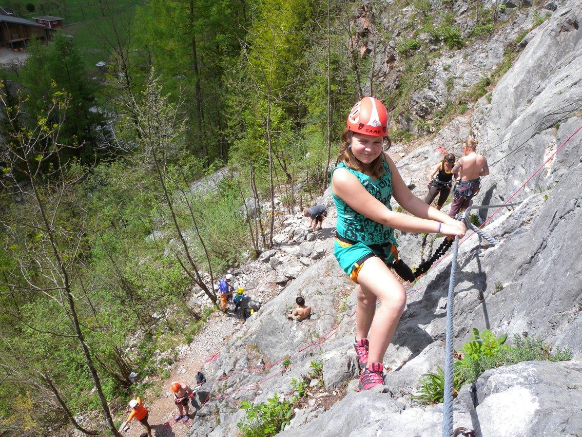 Klettersteig Zahme Gams : Klettersteig zahme gams in weißbach bei lofer am