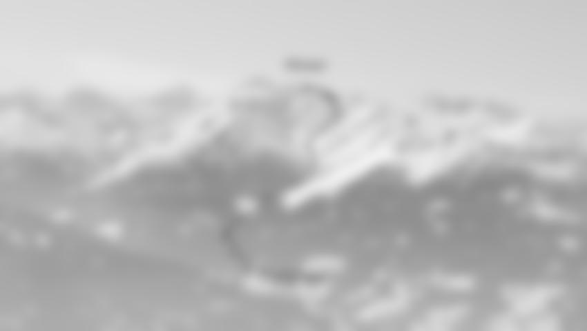 Übersicht des Aufstieges im Hirzerkar.
