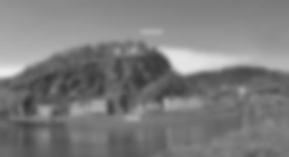 Übersicht - die Schäferwand mit dem Zu- und Abstieg. Route siehe Topobild.