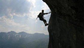 Y Set Klettersteig : Höhenweg klettersteig bergsteigen