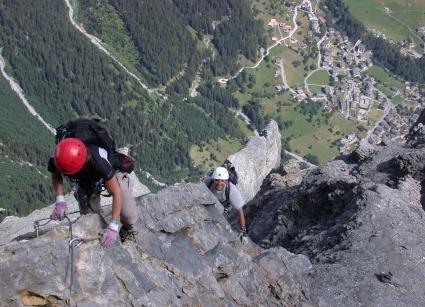 Klettersteig Leukerbad : Die schönsten klettersteige in leukerbad