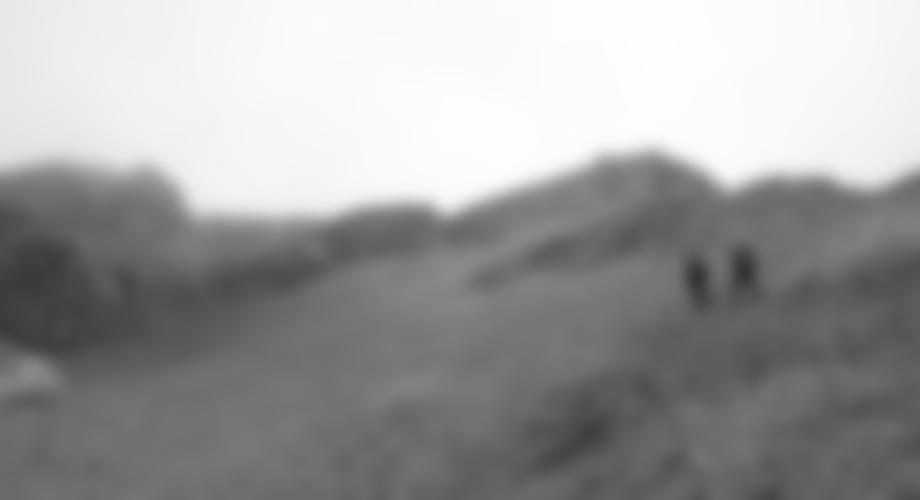 Der Fußweg zum Gipfel.
