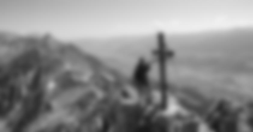 Auf der Seegruben Spitze (2350 m).