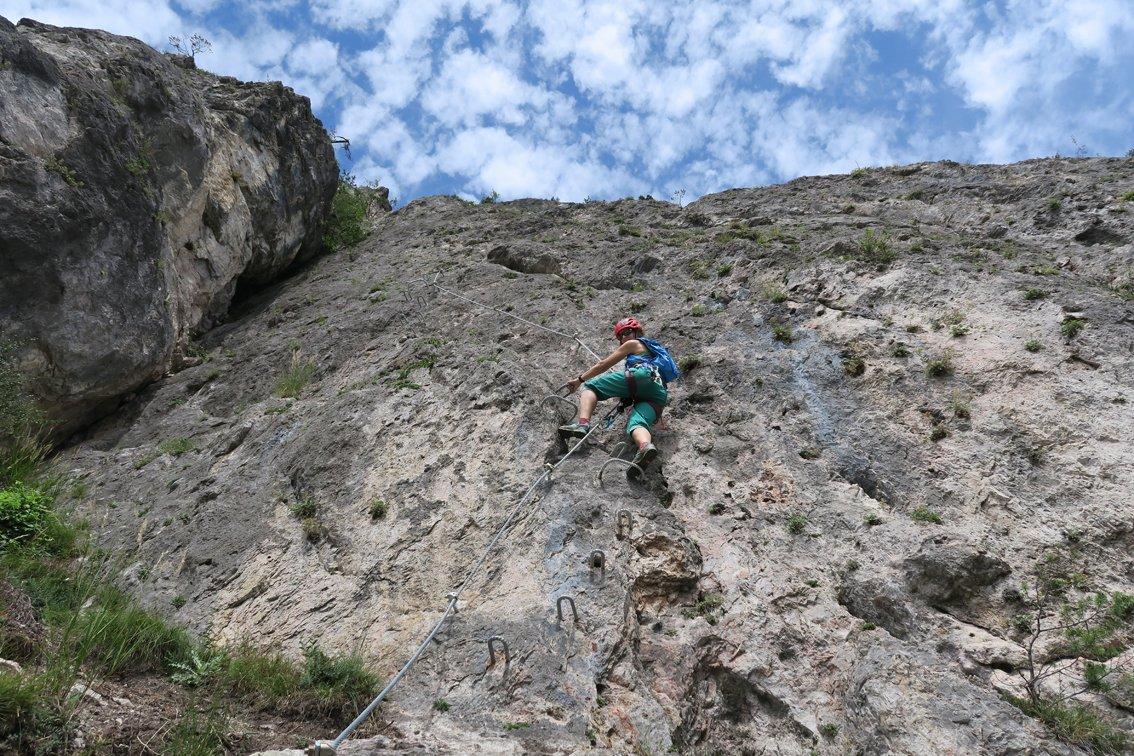 Klettersteig Geierwand : Geierwand klettersteig bergsteigen