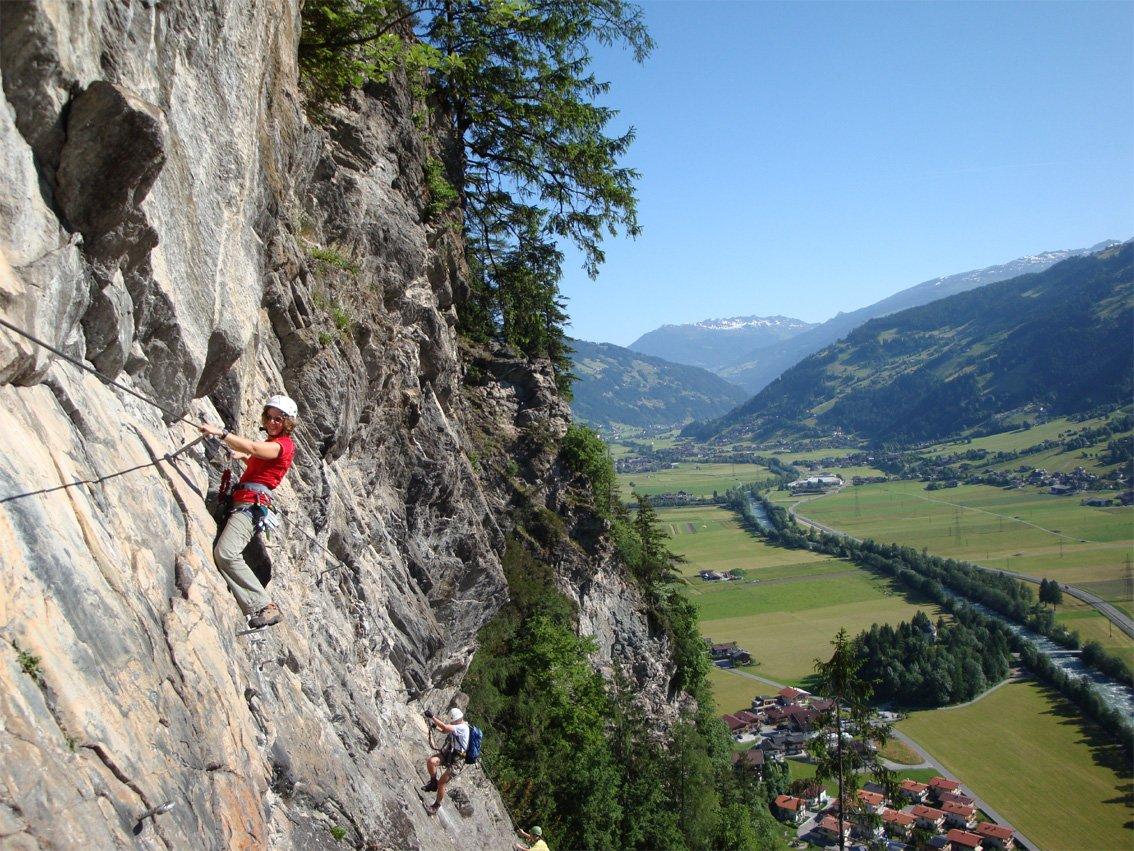 Klettersteig Zimmereben : Zimmereben klettersteig bergsteigen.com