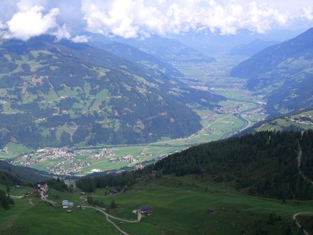 Klettersteig Gerlossteinwand : Klettersteig gerlosstein hainzenberg mapio