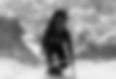 Gerfried Goschl beim Aufstieg am Hidden Peak