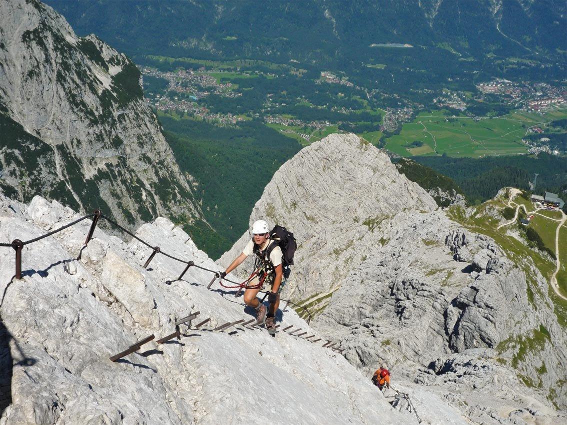 Alpspitz Ferrata - Alpspitze Klettersteig | Bergsteigen.com