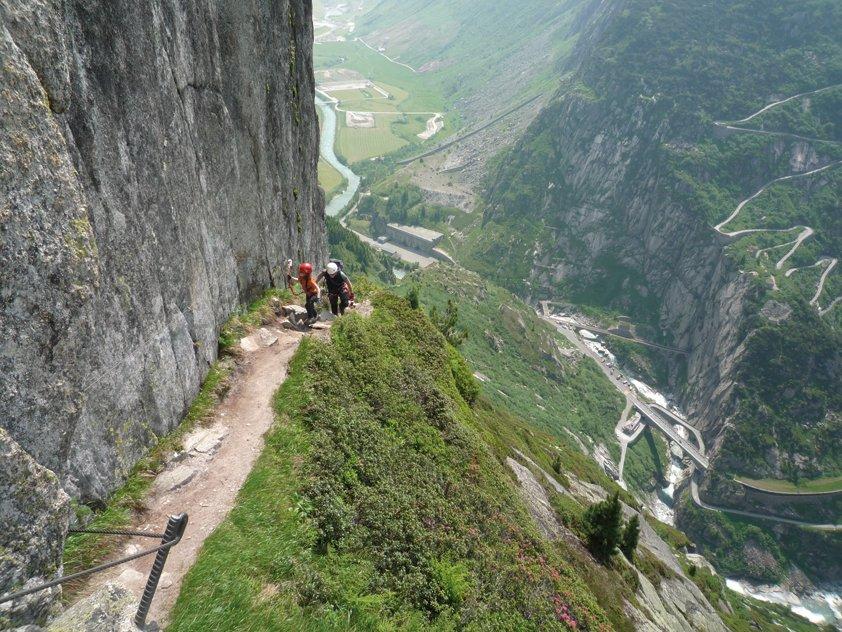 Klettersteig Diavolo : Via ferrata diavolo bergsteigen.com