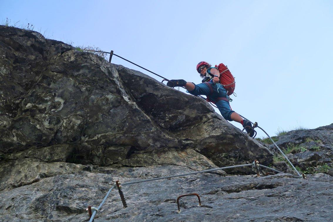 Fallbach Klettersteig Vorarlberg : Klostertaler klettersteig am fallbach bergsteigen
