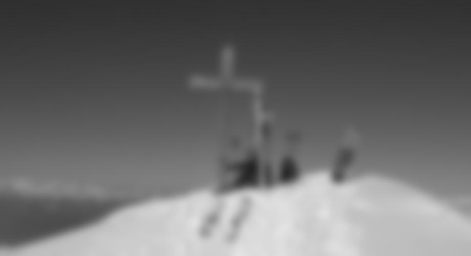 Das Gipfelkreuz des Ampfersteins.
