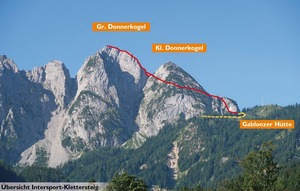 Klettersteig Dachstein : Bergfex klettersteig anna und johann tour steiermark