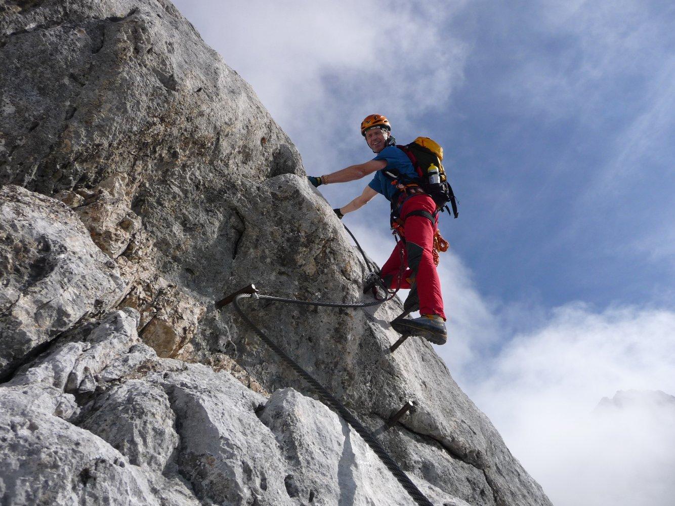 Klettersteig Johann Topo : Der johann klettersteig südwandklettersteig bergsteigen.com