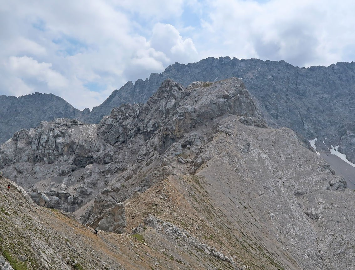 Klettersteig Coburger Hütte : Coburger klettersteig bergsteigen