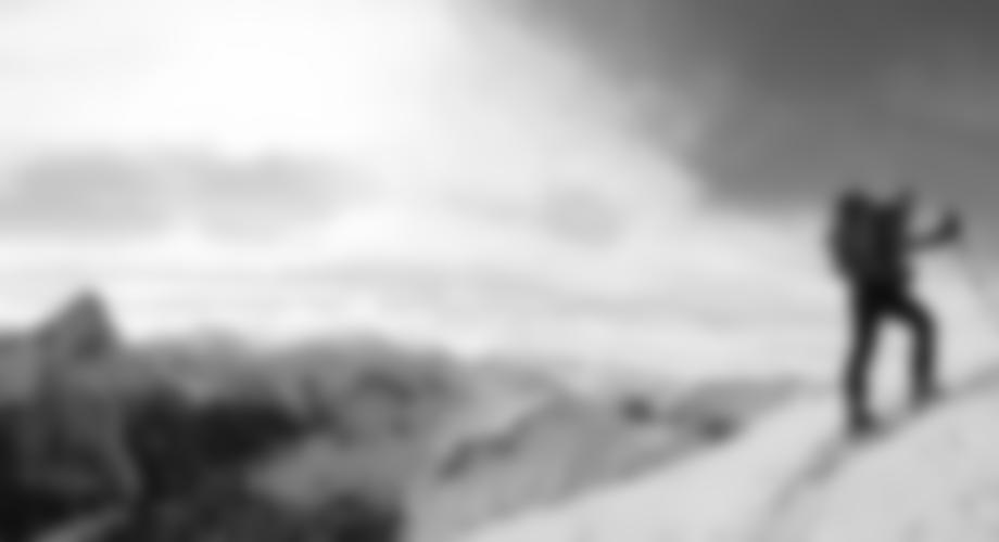 Im Gipfelhang mit perfektem Panorama.